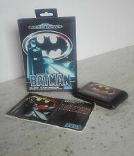 BATMAN Mega Drive COMPLETO PAL MegaDrive