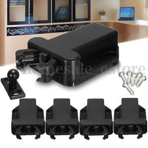 4x Push To Open Beetles Magnetic Door Drawer Cabinet Catch Touch Latch Cupboard