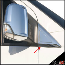 MERCEDES SPRINTER W906 2006- Chrome Door Mirror Window Quarter Panel S. Steel