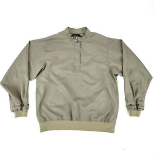 Zero Restriction Golf Outerwear 1/4 Snap Pulllover Wind Jacket Womens Size Small