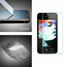 For Apple iPhone 4/4S 100% Genuine Tempered Glass Film Screen Protector