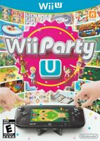 Wii Party U - Nintendo Wii U Complete Game