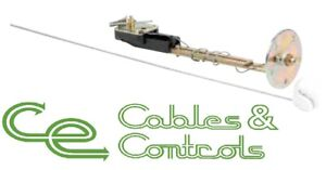 VDO Fuel sender 10-180 ohms. Adjustable 150-535mm. Gasket included 220.003