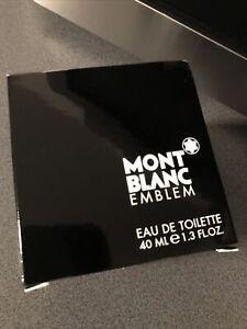 Mont Blanc Emblem 40ml Eau de Toilette Neu & OVP