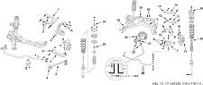NISMO Rear A Arm Set (reinforced)  For Skyline (R33) 2WD RB25DET 55550-RS591