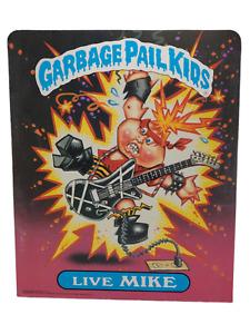 Vintage GPK Garbage Pail Kids Live Mike & Stormy Heather Pocket Folder 1986 NOS