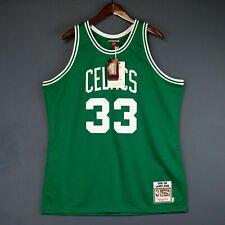 100% Authentic Larry Bird Mitchell Ness 85 86 Celtics Jersey Size 44 L Mens