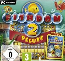 FISHDOM 2 DELUXE + HOLIDAY EDITION Fishdome Fish Dom Sehr Guter Zustand