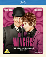 The Avengers: The Complete Series 6 Blu-Ray (2015) Patrick MacNee cert PG 9