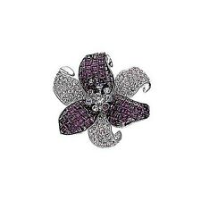 Swarovski Pin Amy Pave Flower Nib Brooch Item 0959276