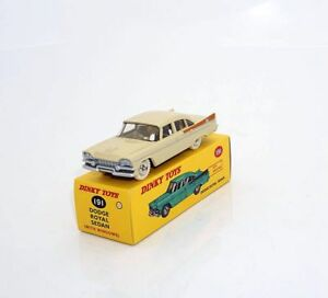 DeAgostini DINKY TOYS 1/43 DODGE ROYAL SEDAN CAR MODEL DIE-CAST Collection RARE