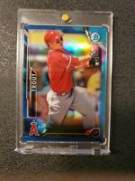 2016 Bowman Chrome Mike Trout Blue Refractor #'d/150 beautiful card