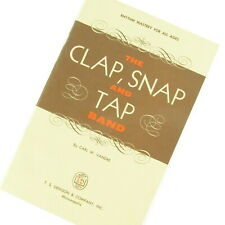 The Clap Snap and Tap Band Rhythm Mastery Student Book 1964 Carl Vandre Music