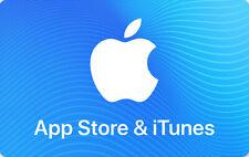 Apple Store & iTunes Deutschland Germany 50 € Euro Guthabenkarte Gift Card