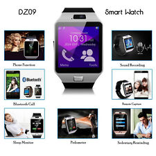 Smartwatch 1.56 Inch Touch Screen SIM Card Camera Android IOS Blackberry Windows