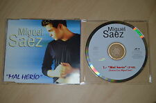 Miguel Saez - Mal Herio. CD-Single (CP1708)