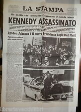 Kennedy Assassinato Lyndon Johnson Attentato di Dallas Politica JFK Stati Uniti
