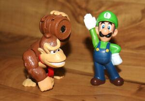Super Mario Nintendo McDonald's Figure Set Donkey Kong Luigi Bros World Land Wii