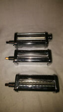 Kitchen Aid Pasta Roller and Cutter Stand Mixer Attatchment Set of 3 pieces