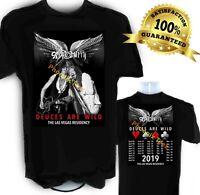 Aerosmith 2019 Concert t shirt Deuces Are Wild Las Vegas Residency