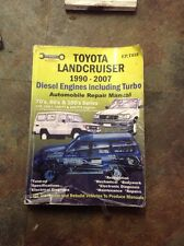 Toyota Landcruiser Automobile Repair Manual