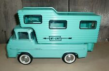Vintage Nylint Ford Camper Truck Toy Aqua Turquoise Blue/Green 2 Piece