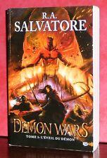 RA Salvatore - Demon Wars - Tome 1 : L'éveil du démon / Milady GF