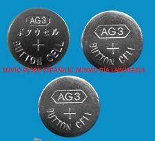 Pack 3 pilas AG3 / LR41 / 192 1.55V   battery ENVIO INMEDIATO A1820