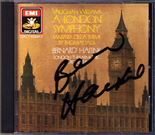 Bernard HAITINK Signiert VAUGHAN WILLIAMS A London Symphony CD EMI Made in Japan