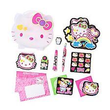 Hello Kitty Keepsake Stationary Set in Reusable Storage Case - NWT