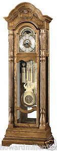 Howard Miller 611-048 Nicolette - Large Oak Grandfather Floor Clock