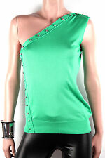 VERSACE BOUTIQUE SILK TOP M SIZE IT 44 UK 12, US 8, FRANCE 40, NEW RETAIL £690