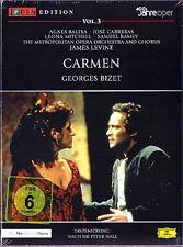 DVD: BIZET CARMEN Carreras Baltsa Ramey LEVINE MET 1988 Jose Agnes Samuel James