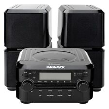 Magnavox Mm435 Home Music Compact Bluetooth Cd Aux Player Shelf Speaker System