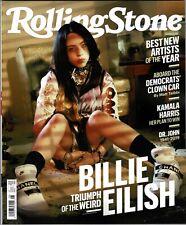 NEW! Rolling Stone August 2019 Billie Eilish USA Newsstand Edition No Label