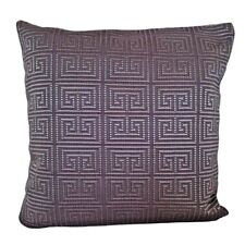 """Dark Lilac Greek Upholstery 18x18"""" Decorative/Throw Pillow Case / Cushion Cover"""