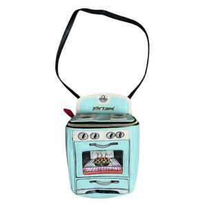 Betsey Johnson Women's Crossbody Bag Oven Purse Mint Green Kitsch