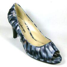 Peep Toe Slim Multi-Coloured Heels for Women