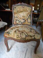 Chaise tapisserie époque Régence