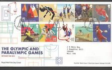 GB 2011 Olympics & Paralympics FDC Tallents House Edinburgh postmark stamps
