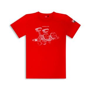 Original Ducati T-Shirt V4 Panigale Shirt short Sleeve New