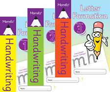 3 Pack Morrells Handwriting Letter Formation Books 1, 2 & 3 Cursive Writing