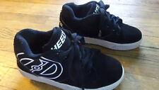 HEELYS KIDS BLACK WHITE Roller Skate Shoes SZ 5 YOUTH Euro 36.5