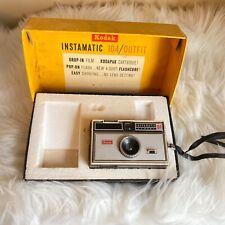 Vintage 1960's Kodak Instamaic 104/Outfit Camera Comes in Original Box