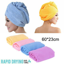 Microfiber Absorbent Towel Cap Quick Dry Bathing Shower Hair Drying Hat Purple