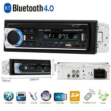 LCD Car Audio In Dash Units MP3 Music Player FM Radio Stereo BT 4.0 Dual USB AUX