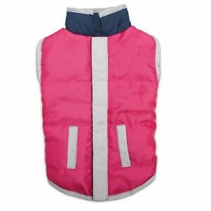 Zack & Zoey Elements Reversible Vest Pink/Blue Size Large (L)