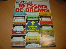 AJ N°8 1974 Alfasud Ti.10 Breaks :DS 23,GS 1220,504,R12