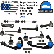 20 pcs Complete Front Suspension Kit for FORD F-150 F150 1997 - 2003 2WD