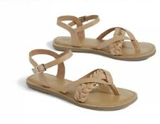 db2b31f24b1 Tom s Women s Leather Sandals and Flip Flops for sale